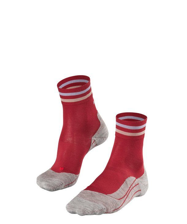 Falke RU4 Trend Damen in Rot Grau