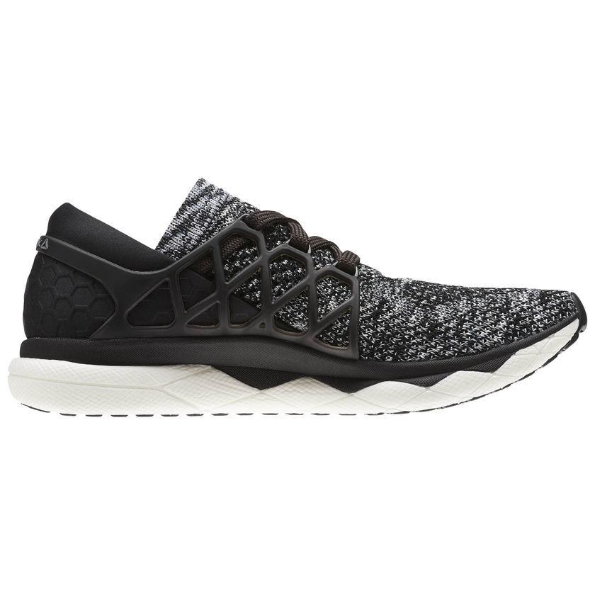 Reebok Floatride Run Ultraknit in Schwarz Weiß