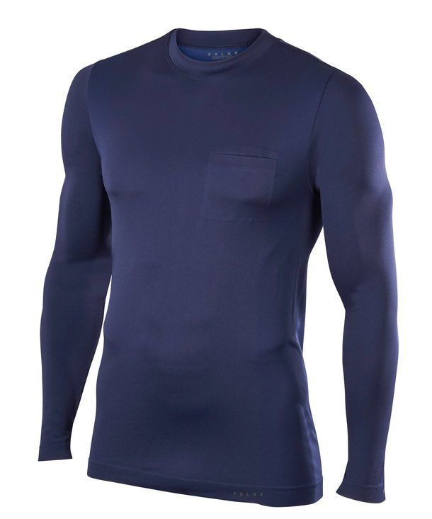 Falke Quest 2.0 Langarmshirt in Blau