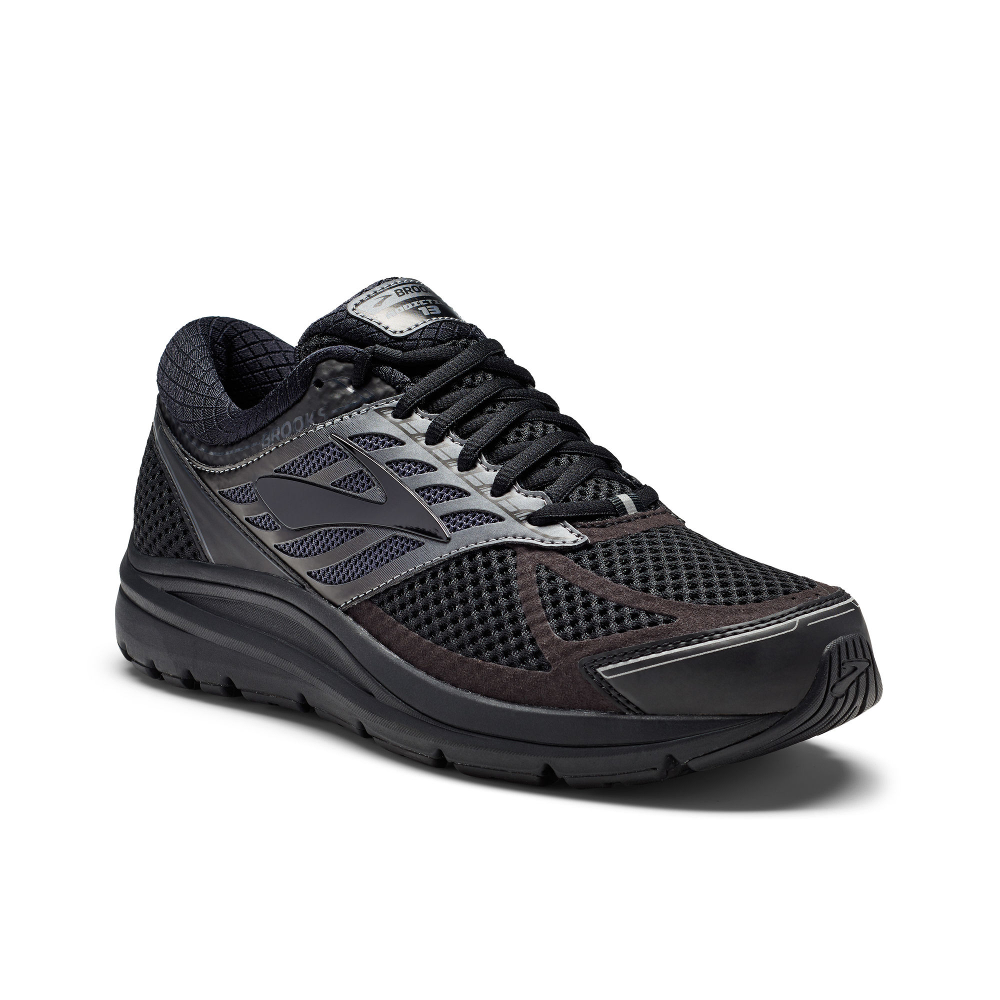 Brooks Addiction 13 4E in Schwarz