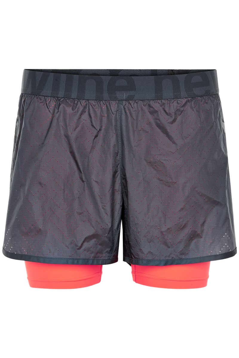 Newline Lady Imotion 2-Lay Shorts in Blau Orange