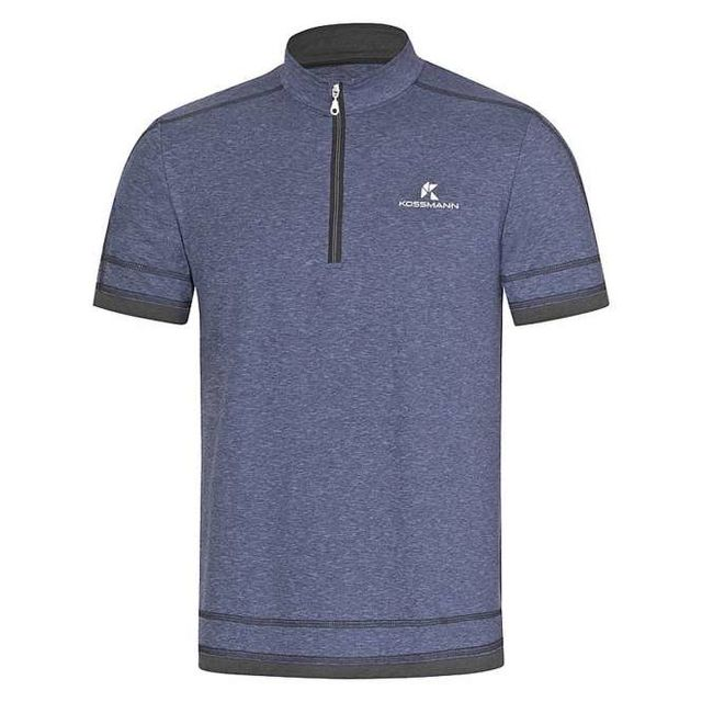 Kossmann Ultra Lite Cool RV Shirt in Blau Anthrazit
