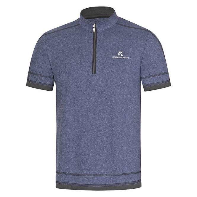 Kossmann Ultra Lite Cool RV Shirt in Blau Anthrazit