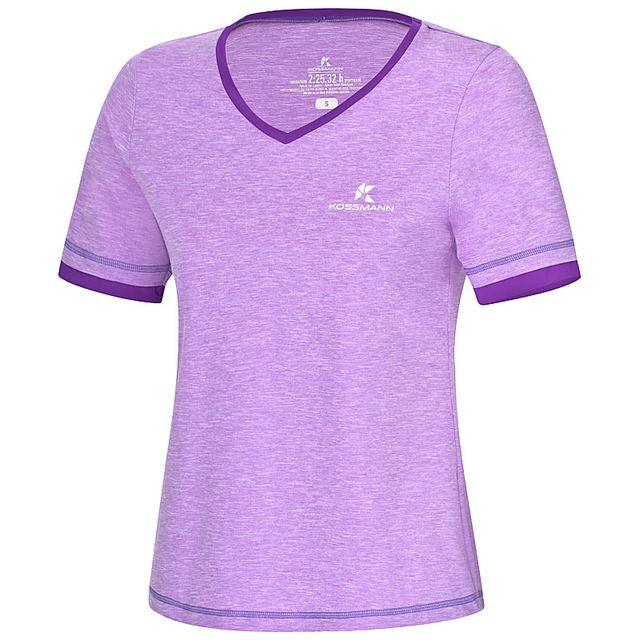Kossmann Damen Ultra Lite Cool Shirt in Violet