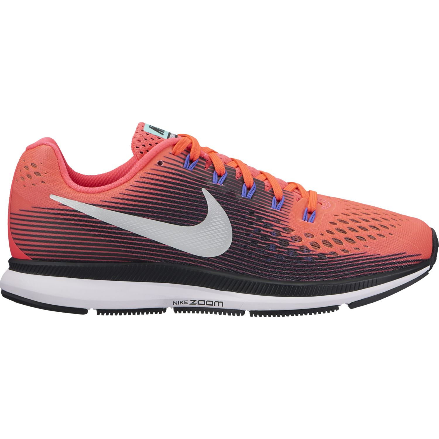 Nike Lady Air Zoom Pegasus 34 in Schwarz Orange