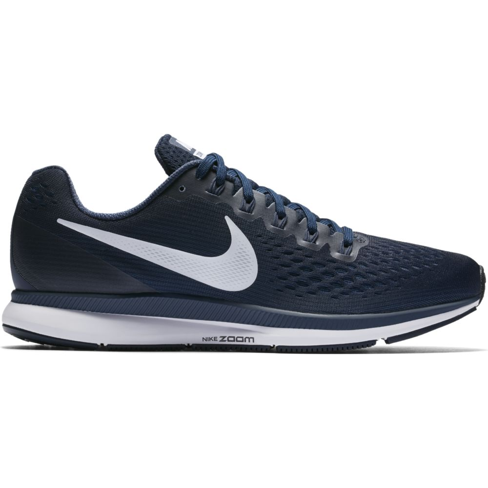 Nike Air Zoom Pegasus 34 in Obsidian Weiß