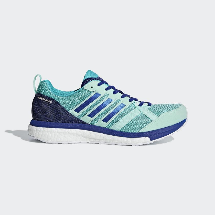 adidas Adizero Tempo 9 w in Blau