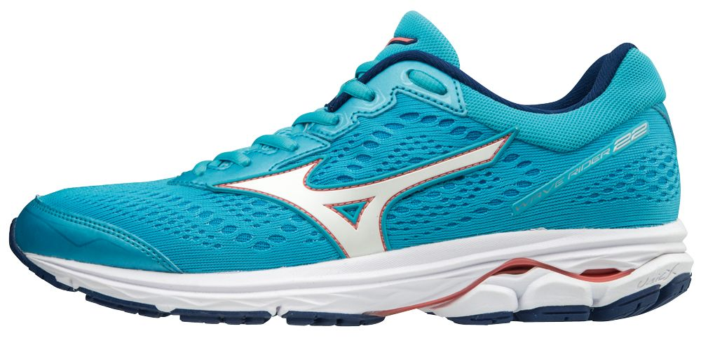 Mizuno Lady Wave Rider 22 in Blau