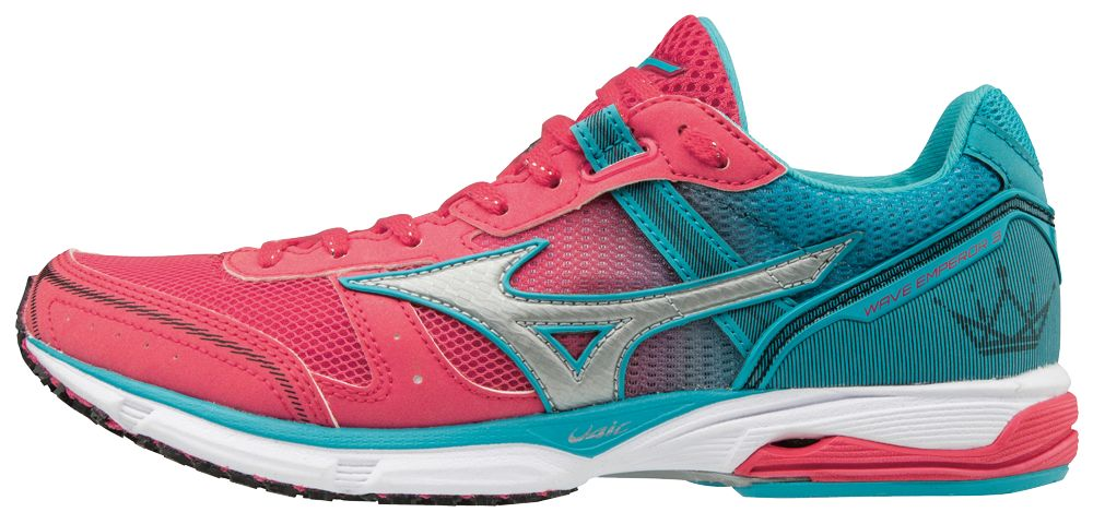 Mizuno Lady Wave Emperor 3 in Rot Blau