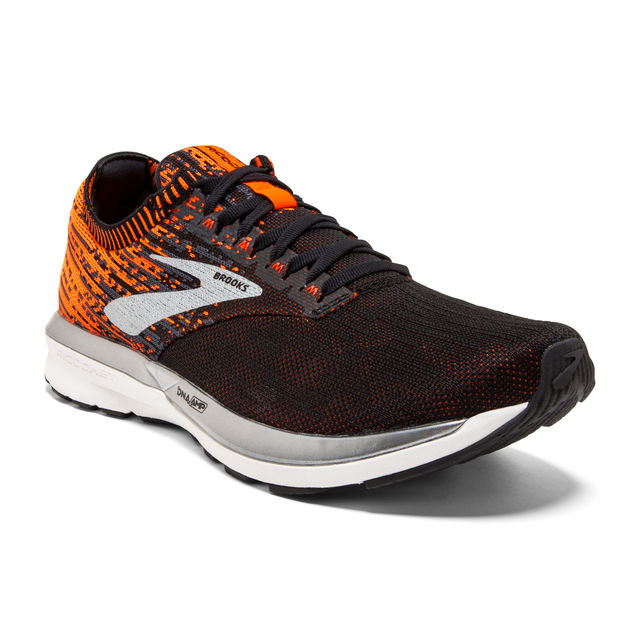 Brooks Ricochet in Orange Schwarz