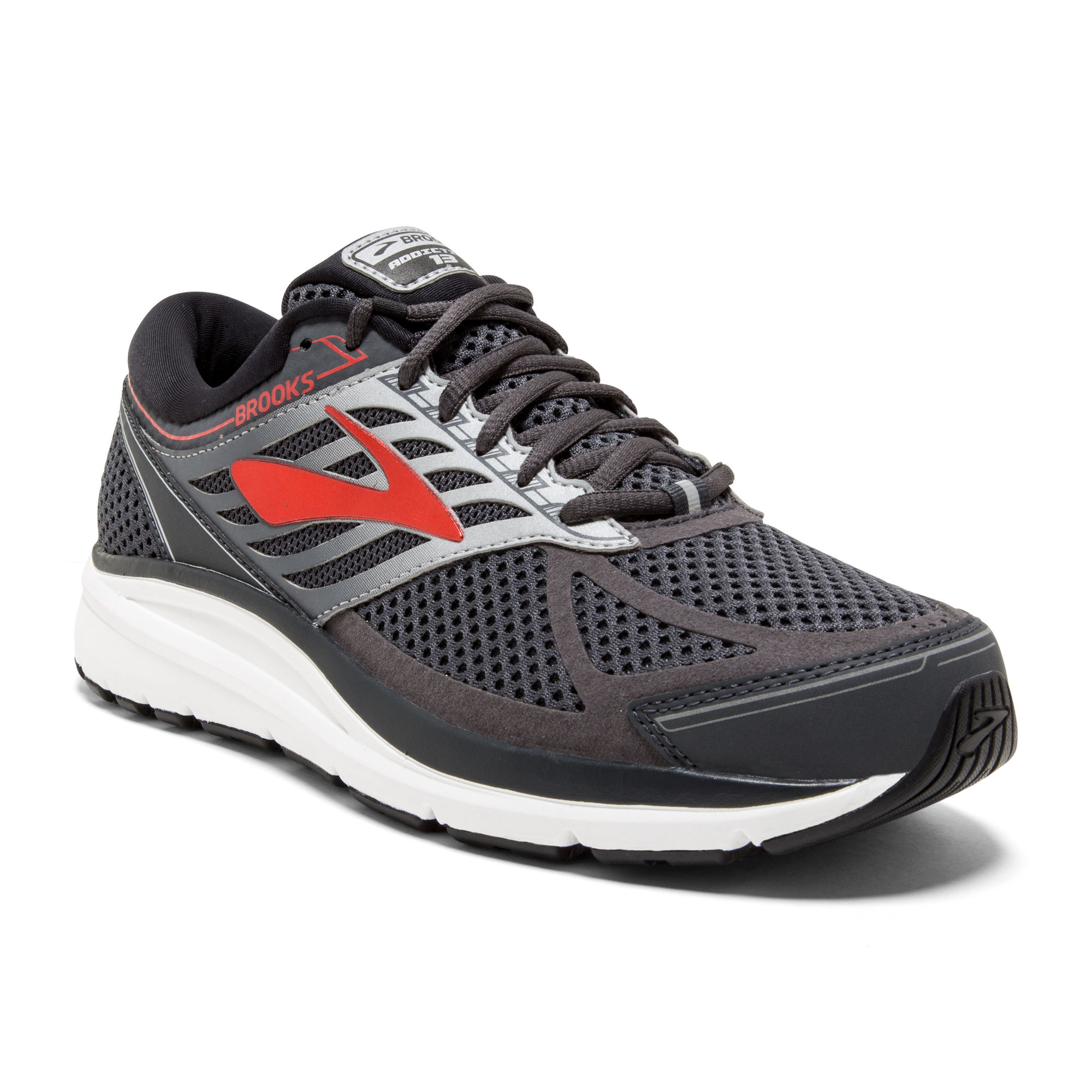 Brooks Addiction 13 in Grau Rot