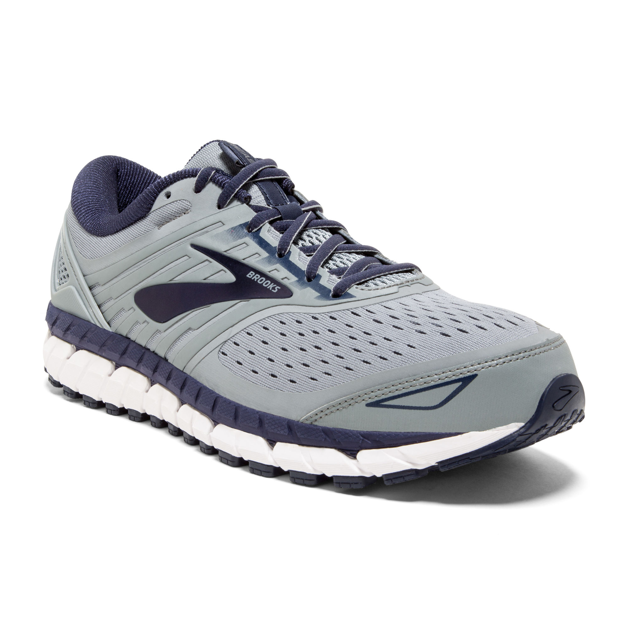 Brooks Beast 18 D in Grau Blau