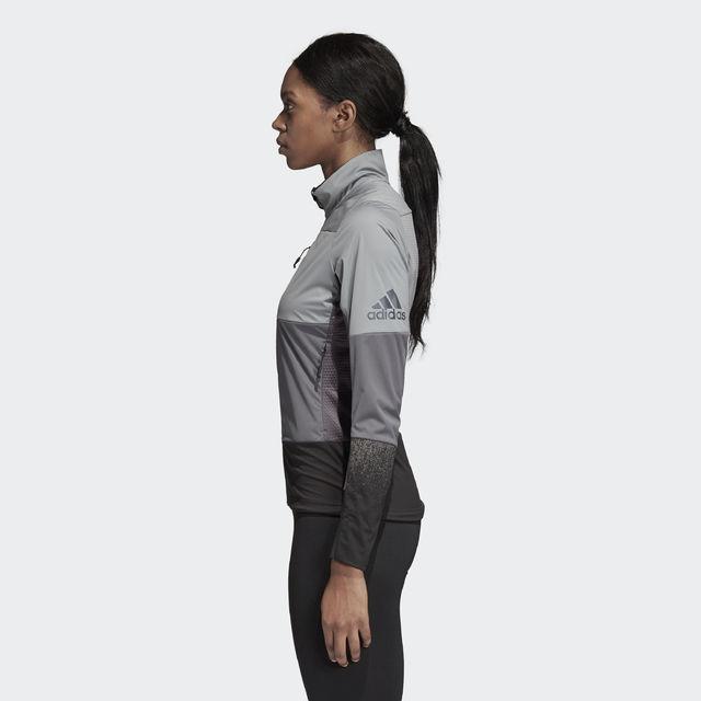 adidas Xperior Jacke w in Grau
