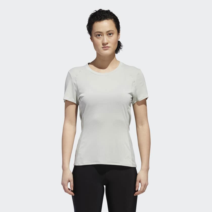 adidas Franchise Supernova T-Shirt w in Grau