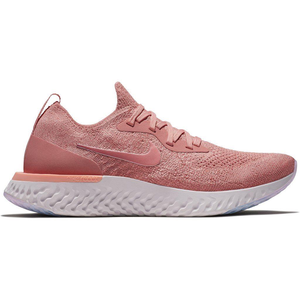 Nike Lady Epic React Flyknit in Rosa