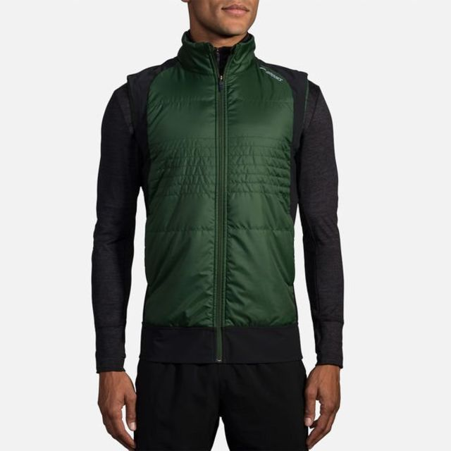Brooks Cascadia Thermal Vest in Grün