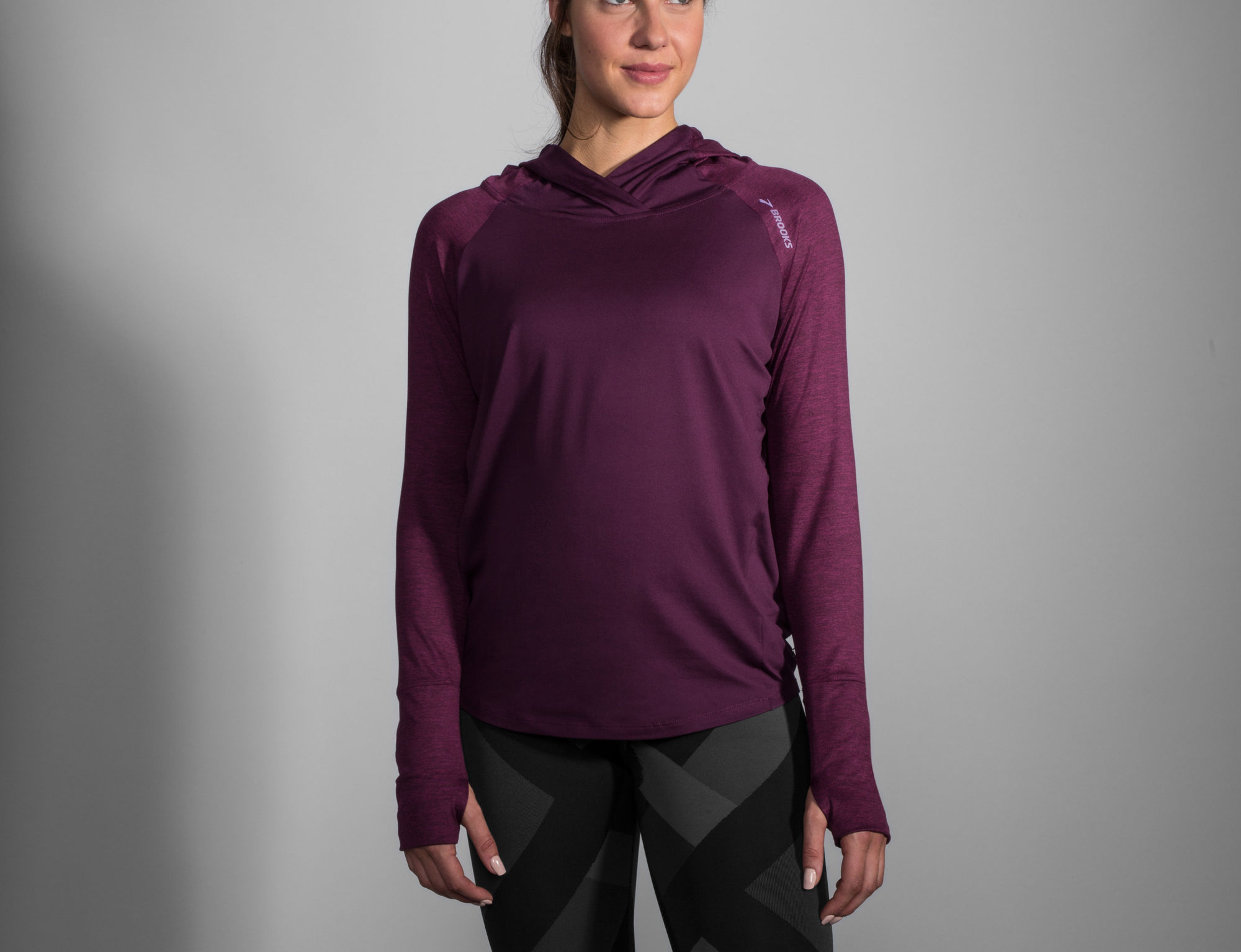 Brooks Lady Dash Hoodie in Lila