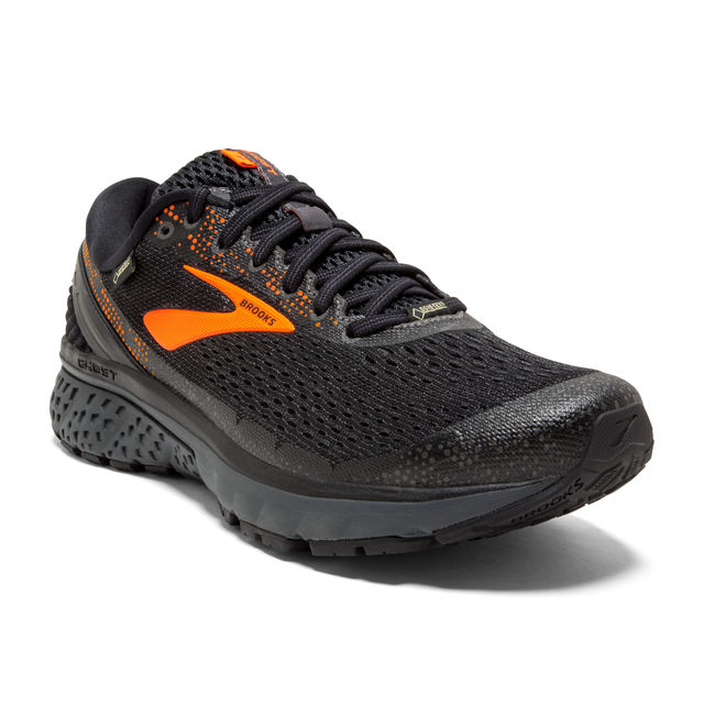 Brooks Ghost 11 GTX in Schwarz Orange