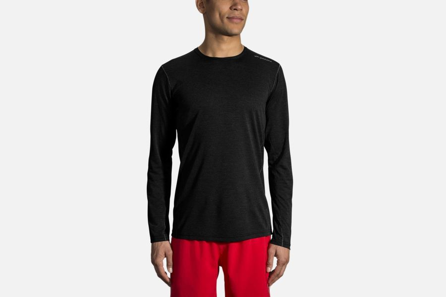 Brooks Ghost Longsleeve in Schwarz
