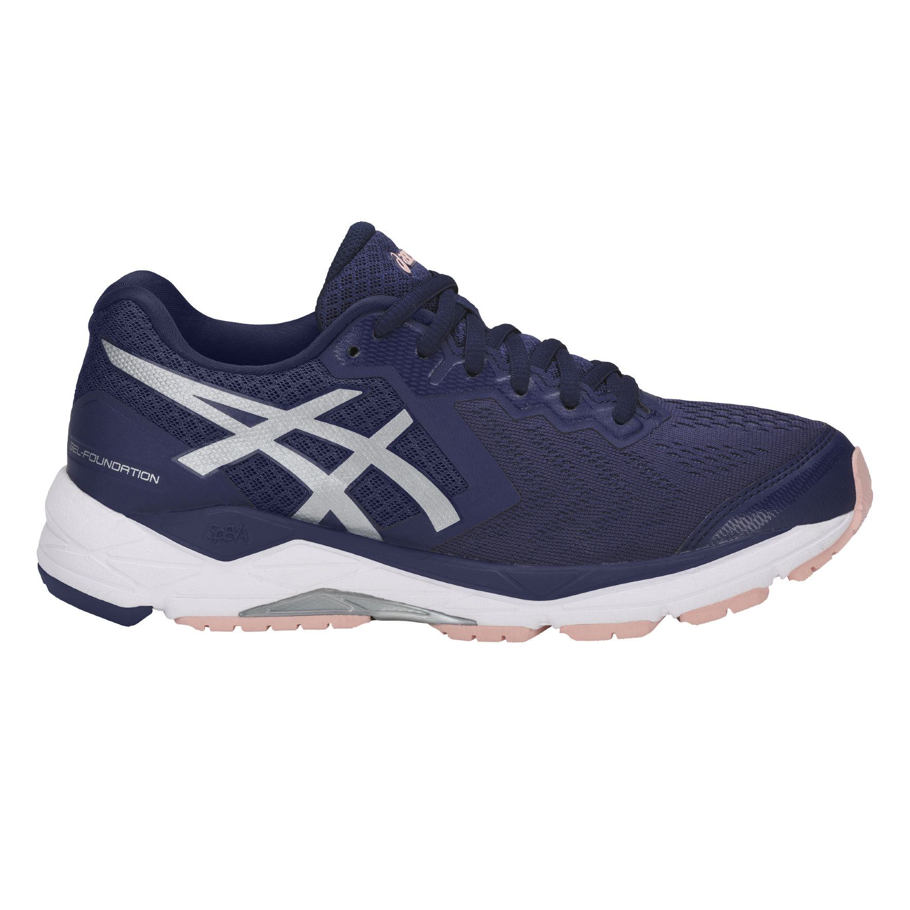 Asics Lady Gel Foundation 13 in Dunkelblau
