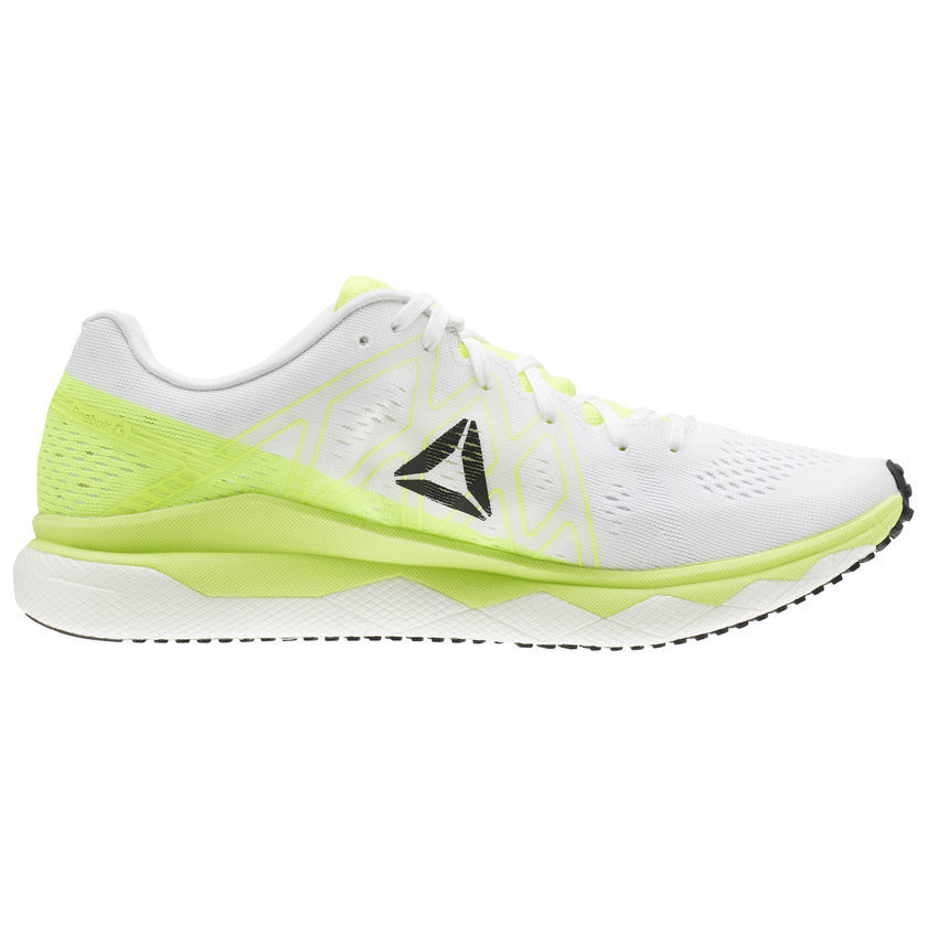 Reebok Lady Floatride Run Fast in Grün Weiß