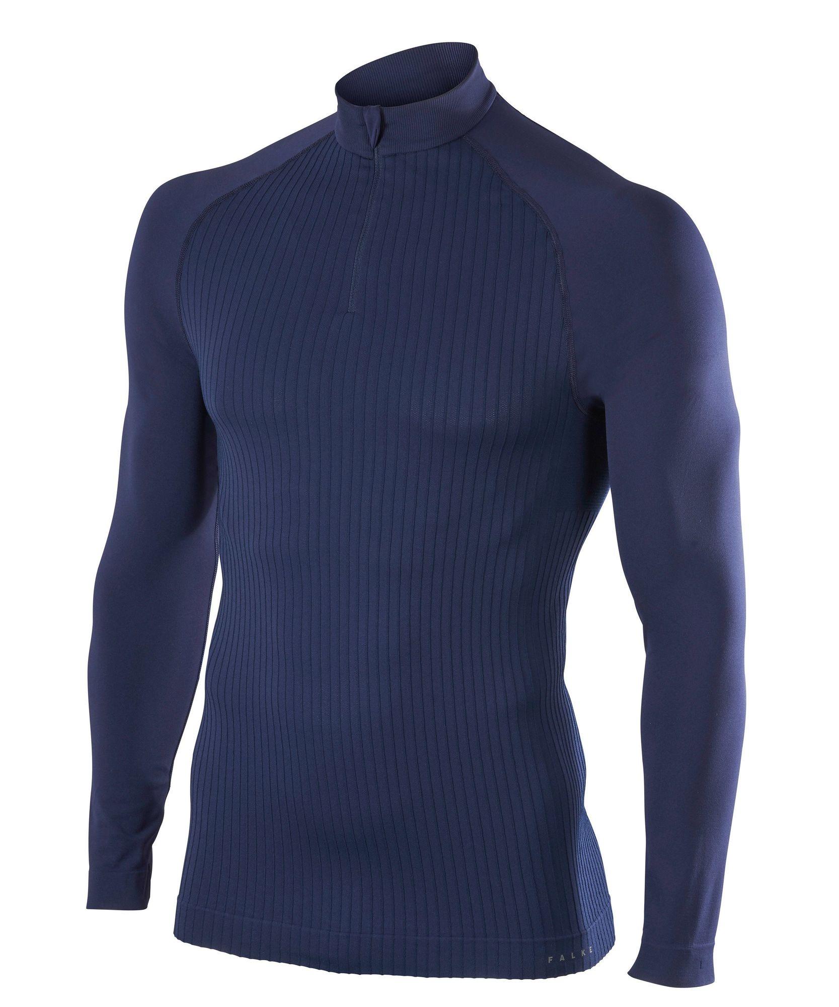 Falke Langarmshirt Warm in Blau