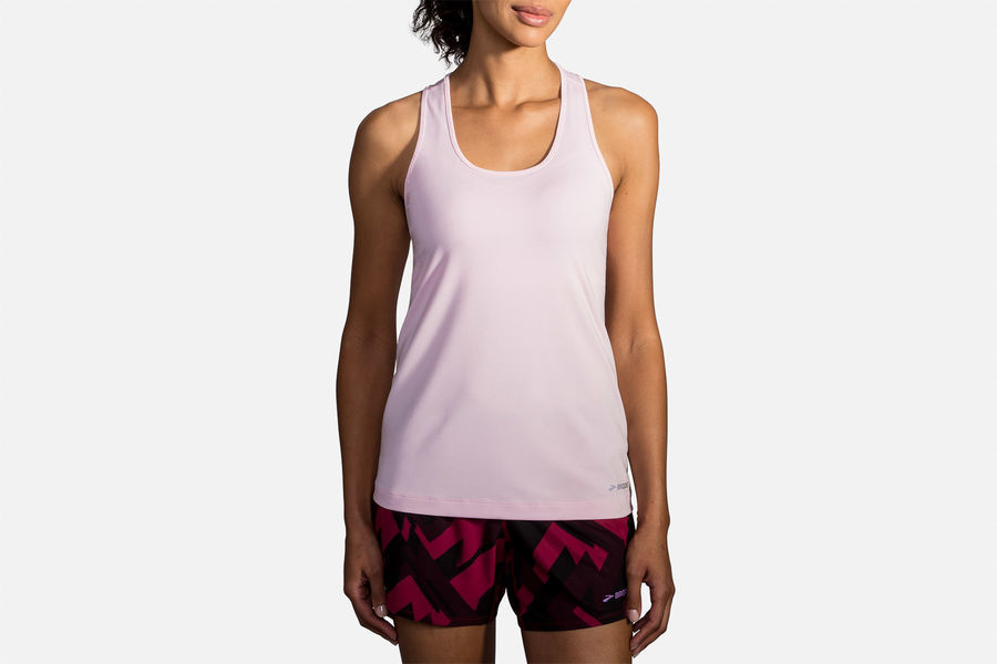 Brooks Lady Pick-Up Tank in Rosa