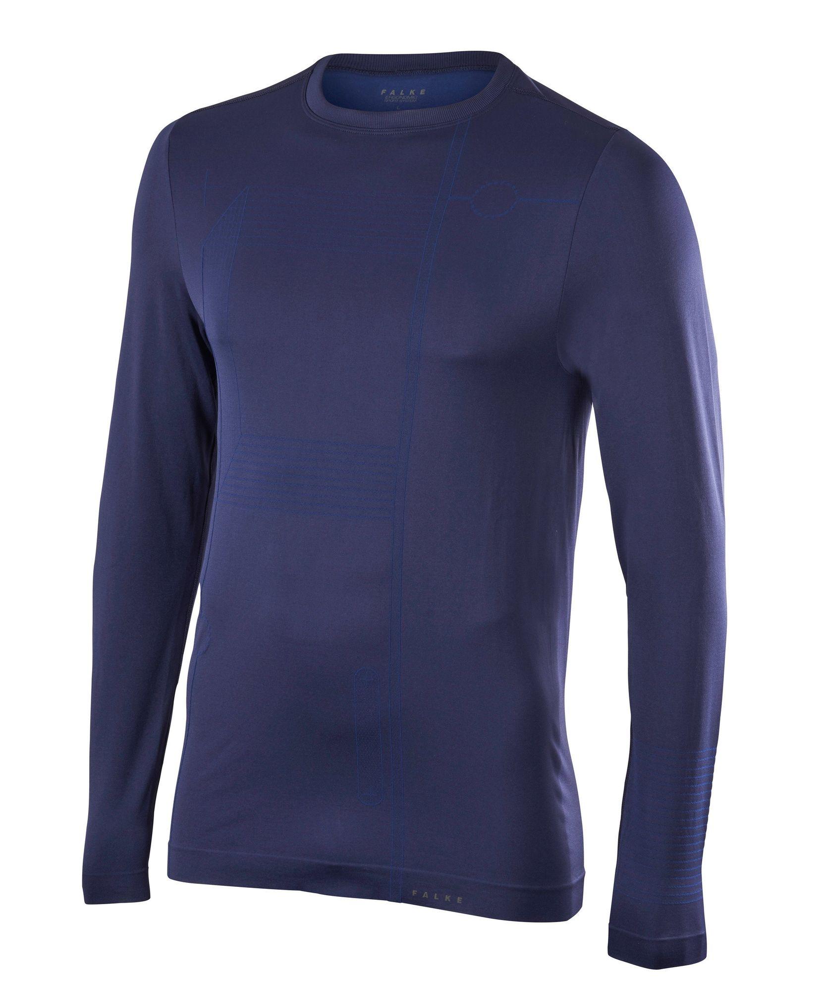 Falke Blueprint 2.0 Langarmshirt in Dunkelblau