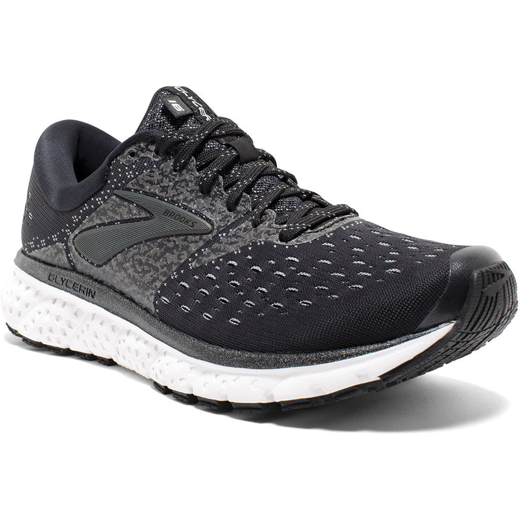 Brooks Lady Glycerin 16 Reflective in Schwarz