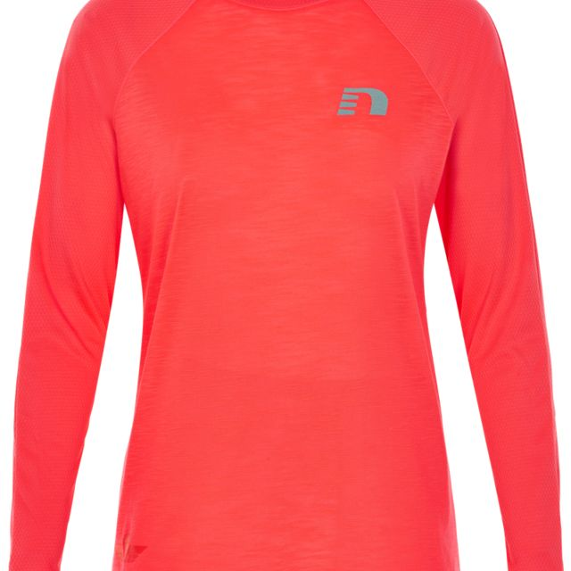Newline Lady Black Light Thermal Shirt in Orange