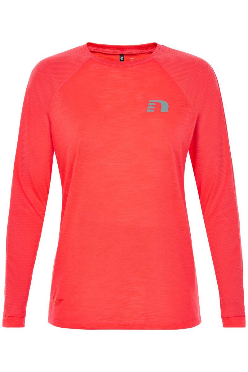 Newline Lady Black Light Thermal Shirt in Orange