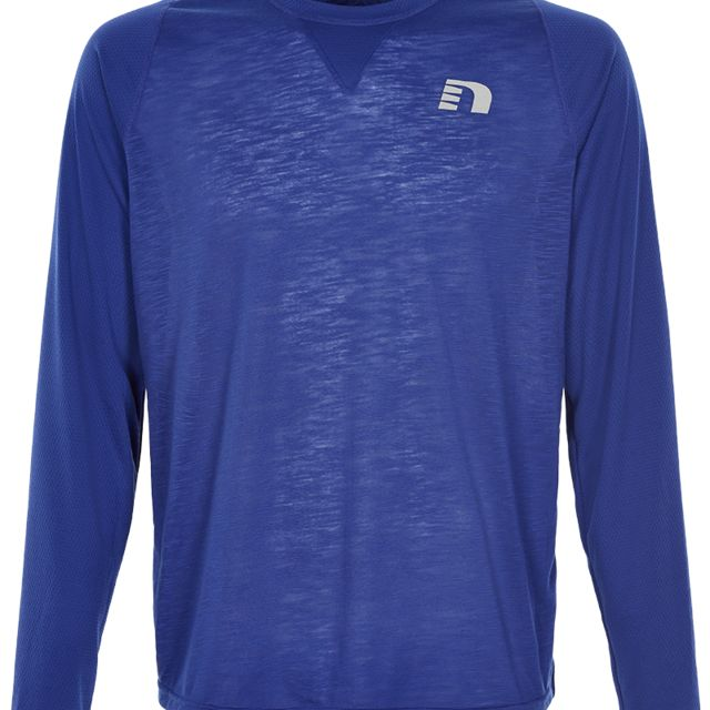 Newline Black Light Thermal Shirt in Blau