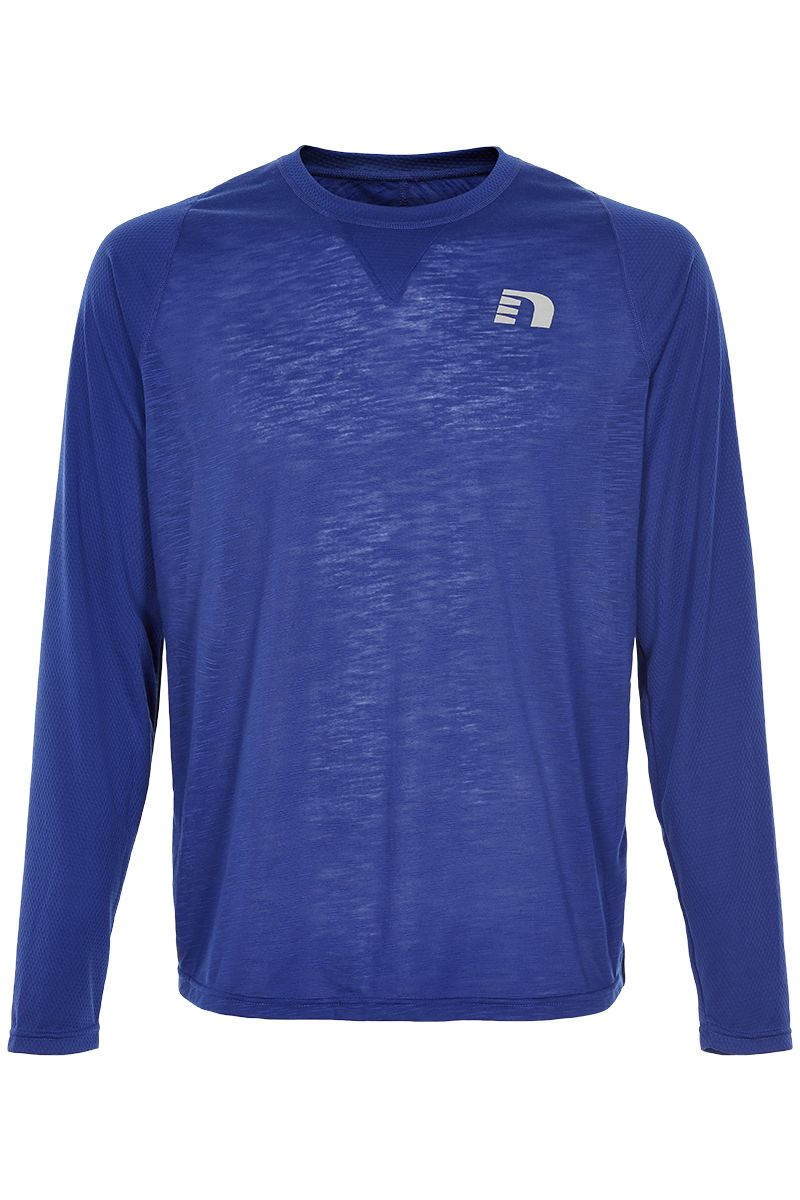 Newline Black Light Thermal Shirt in Blau