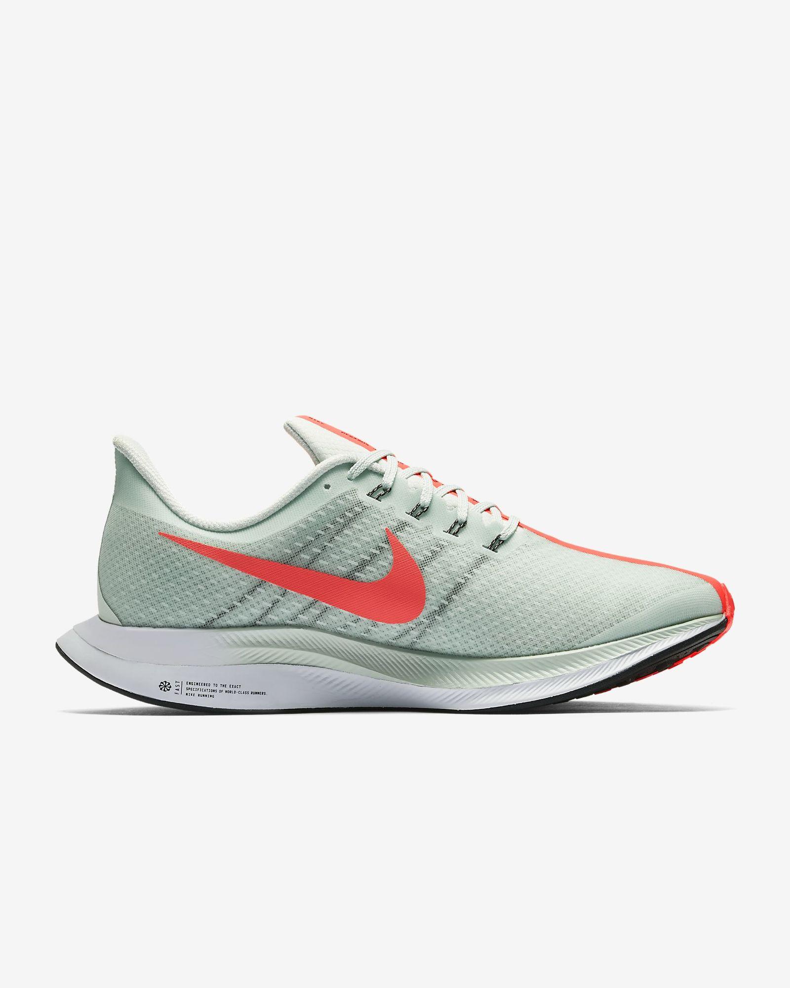 Nike Zoom Pegasus Turbo in Grau Rot