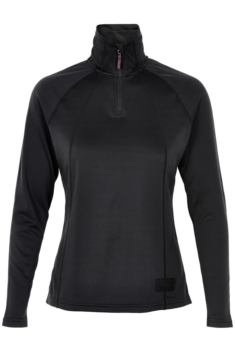 Newline Lady Black Jumpmaster Warm Shirt in Schwarz