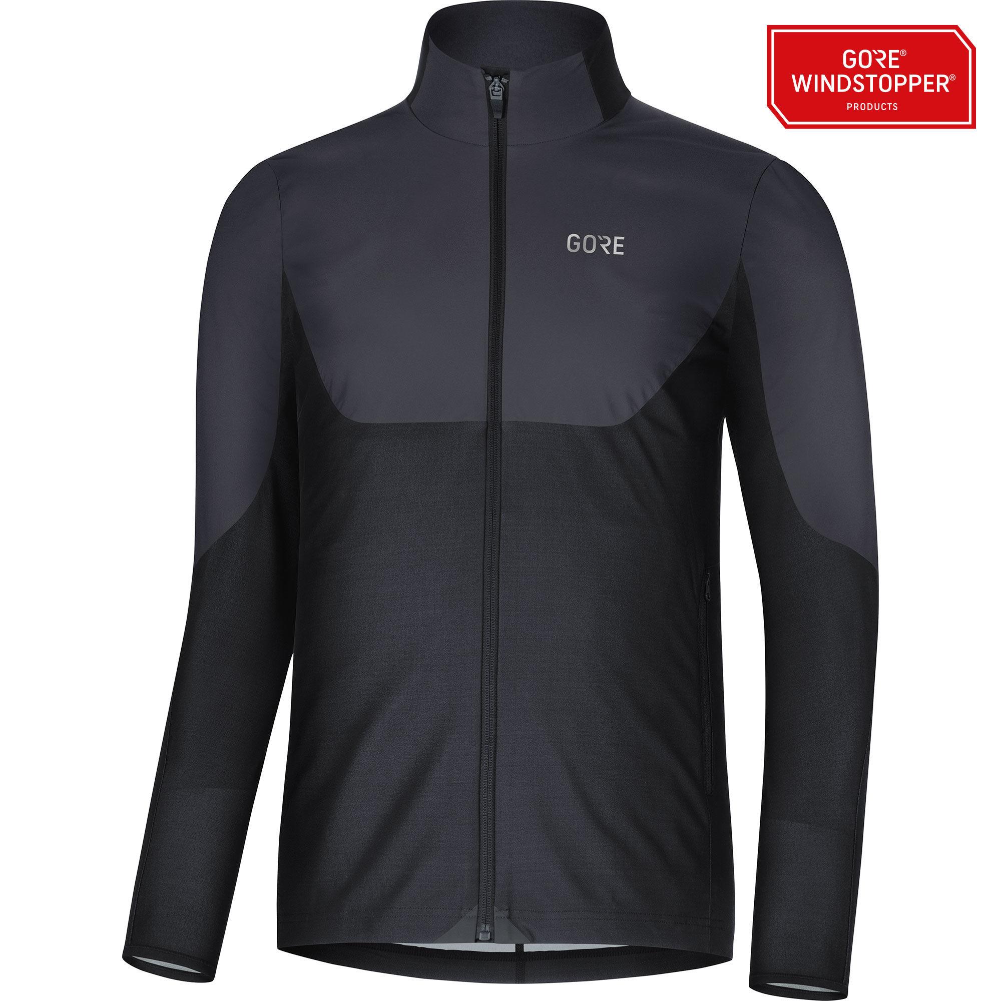 Gore R5 GWS Shirt Langarm in Schwarz