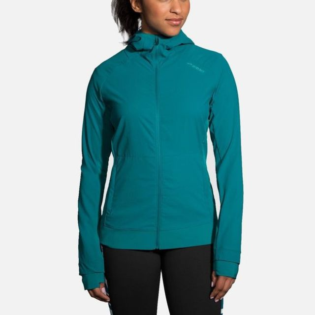 Brooks Lady Canopy Jacket in Grün