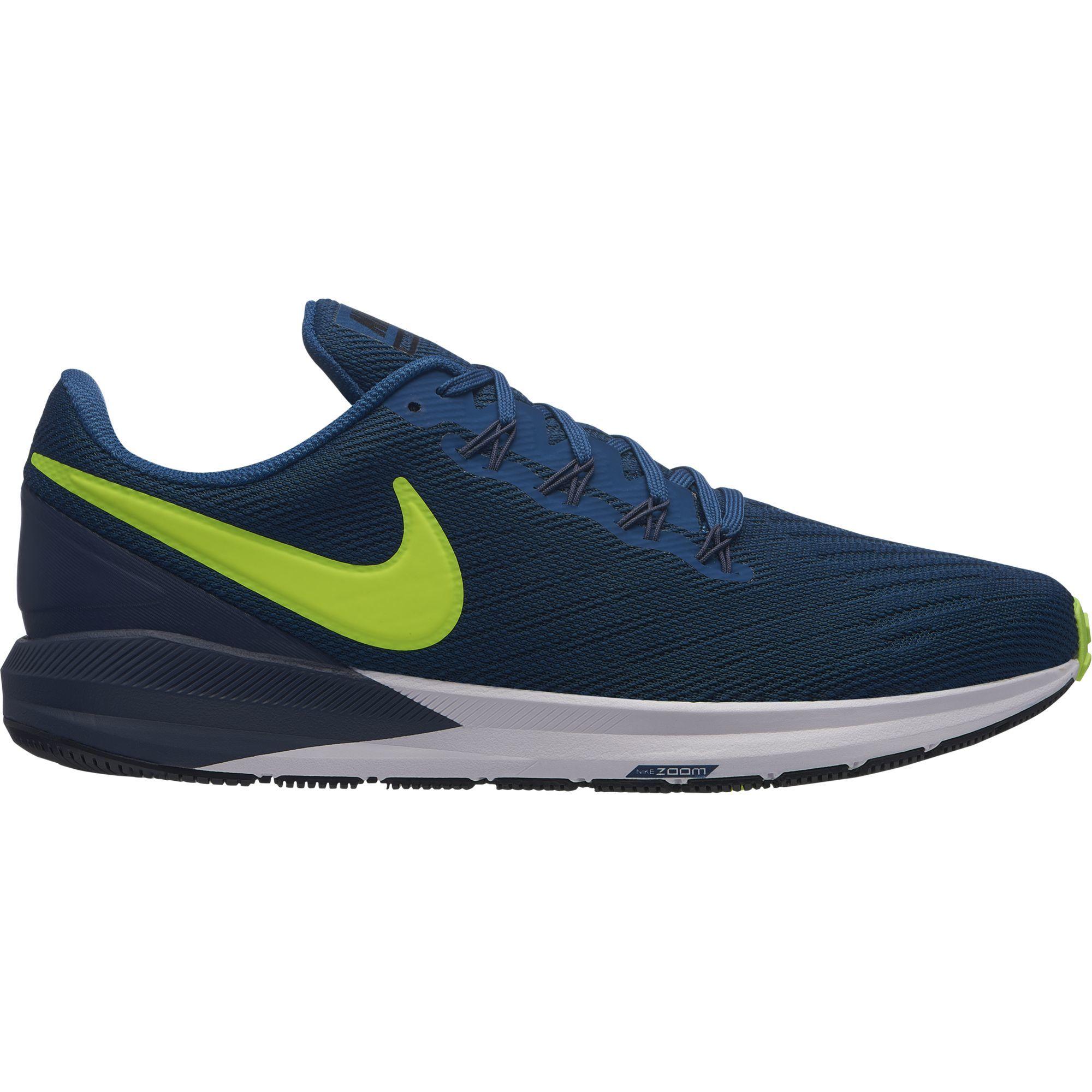 Nike Air Zoom Structure 22 in Blau