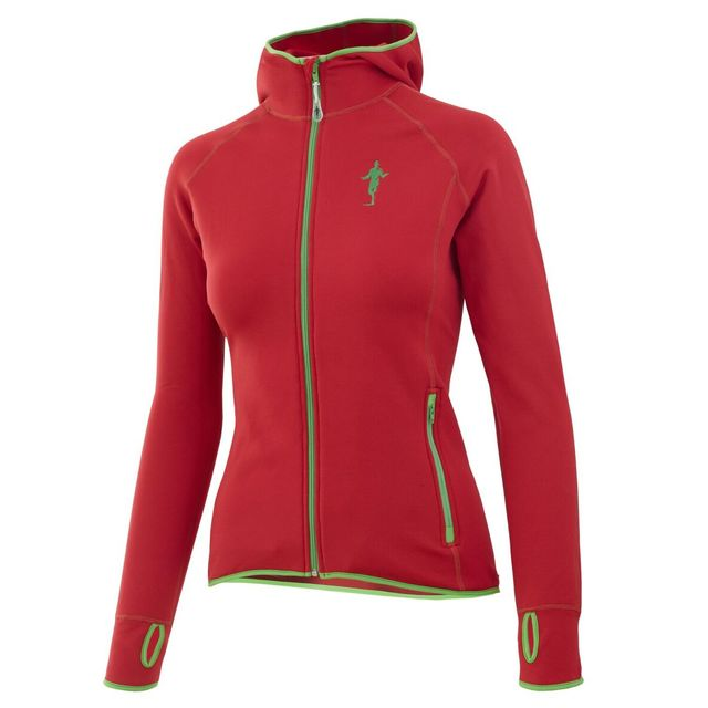 Thonimara Damen Fleece Hoody in Rot