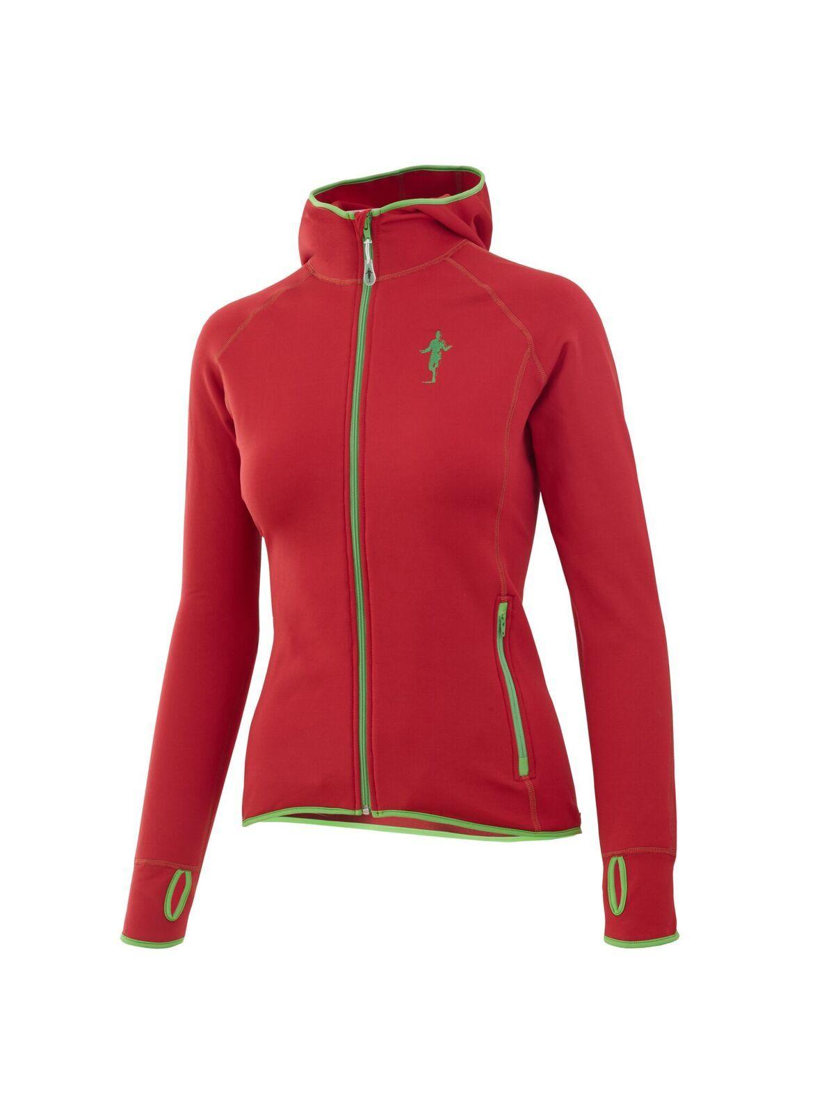 Thonimara Damen Fleece Hoody in Rot