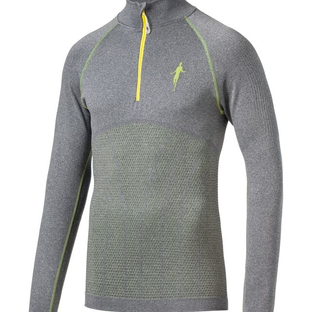 Thonimara Pullover in Grau Gelb