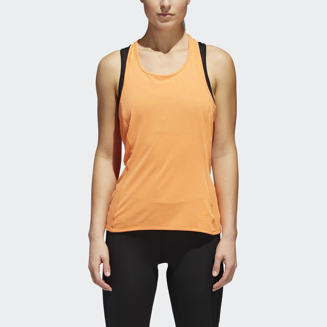 adidas Supernova Franchise Tank w in Orange