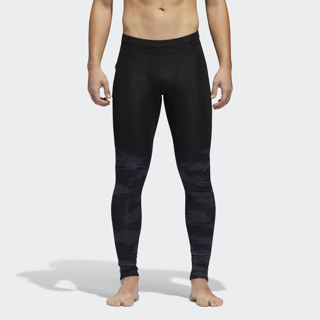 adidas Supernova TKO Tight in Schwarz Grau