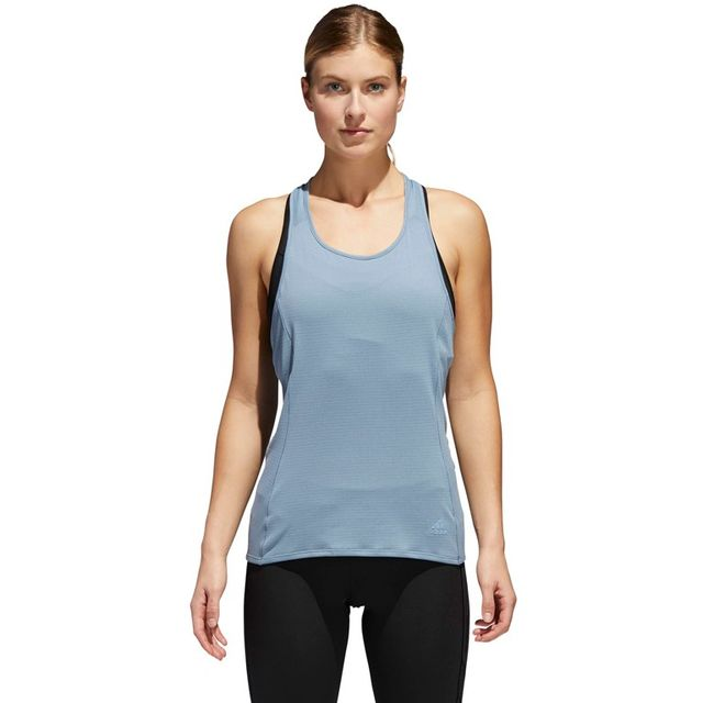 adidas Supernova Franchise Tank w in Blau