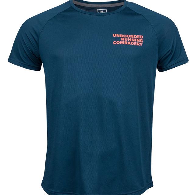 SAYSKY Unbounded Kurzarmshirt in Blau