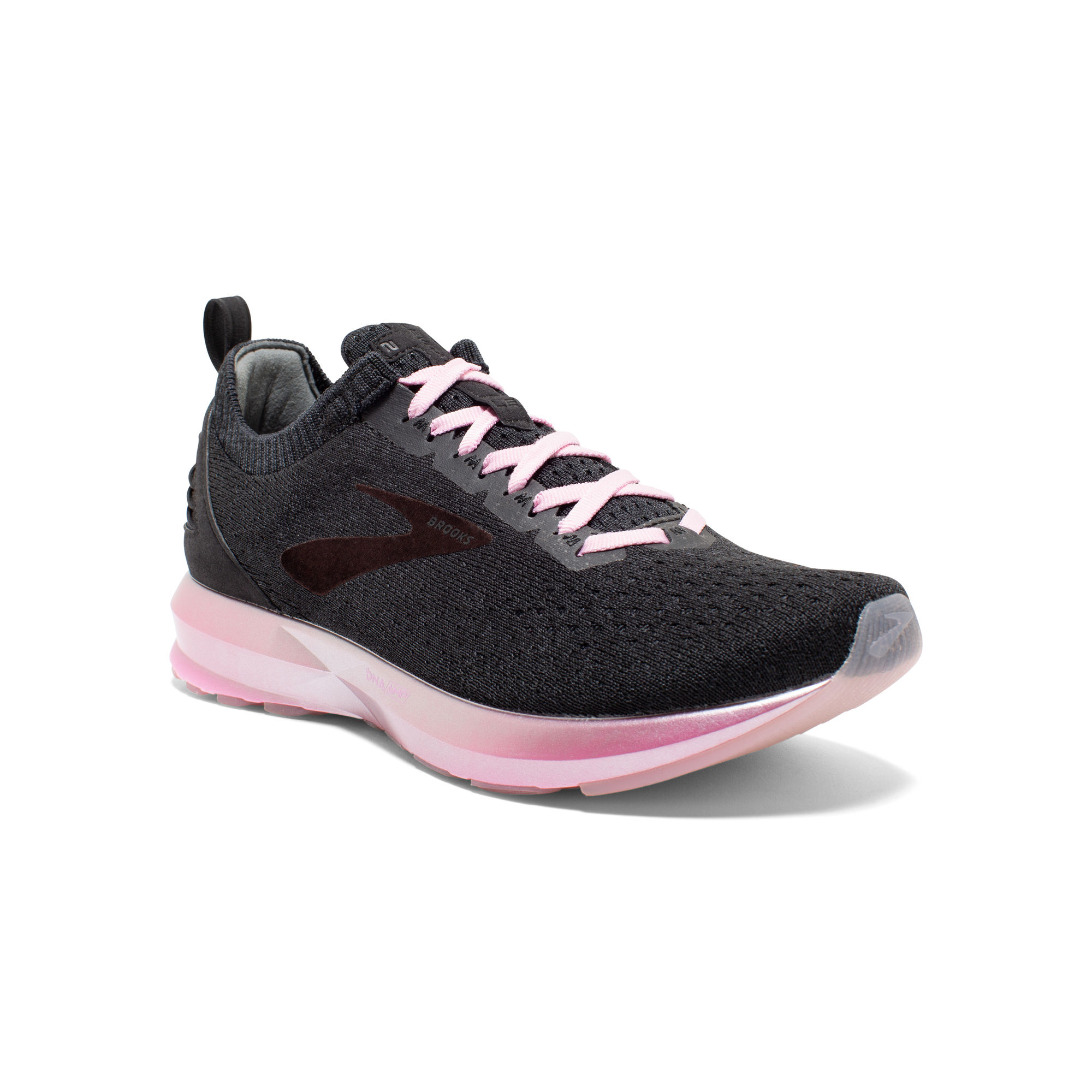 Brooks Lady Levitate 2 LE in Schwarz Pink