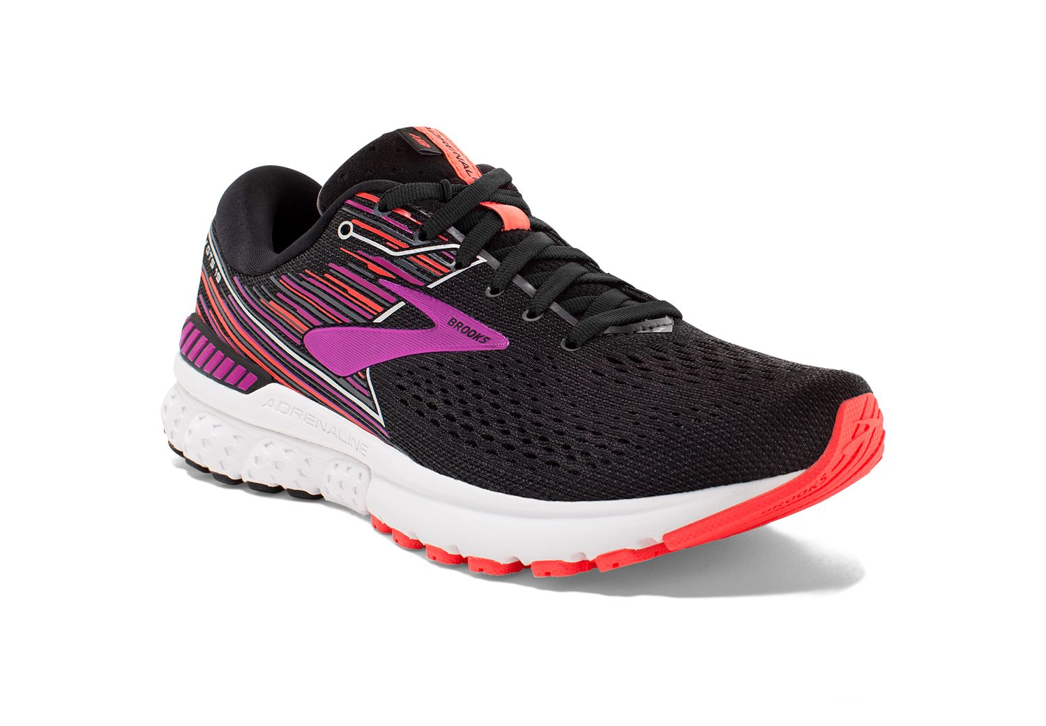 Brooks Lady Adrenaline 19 2A in Schwarz Lila