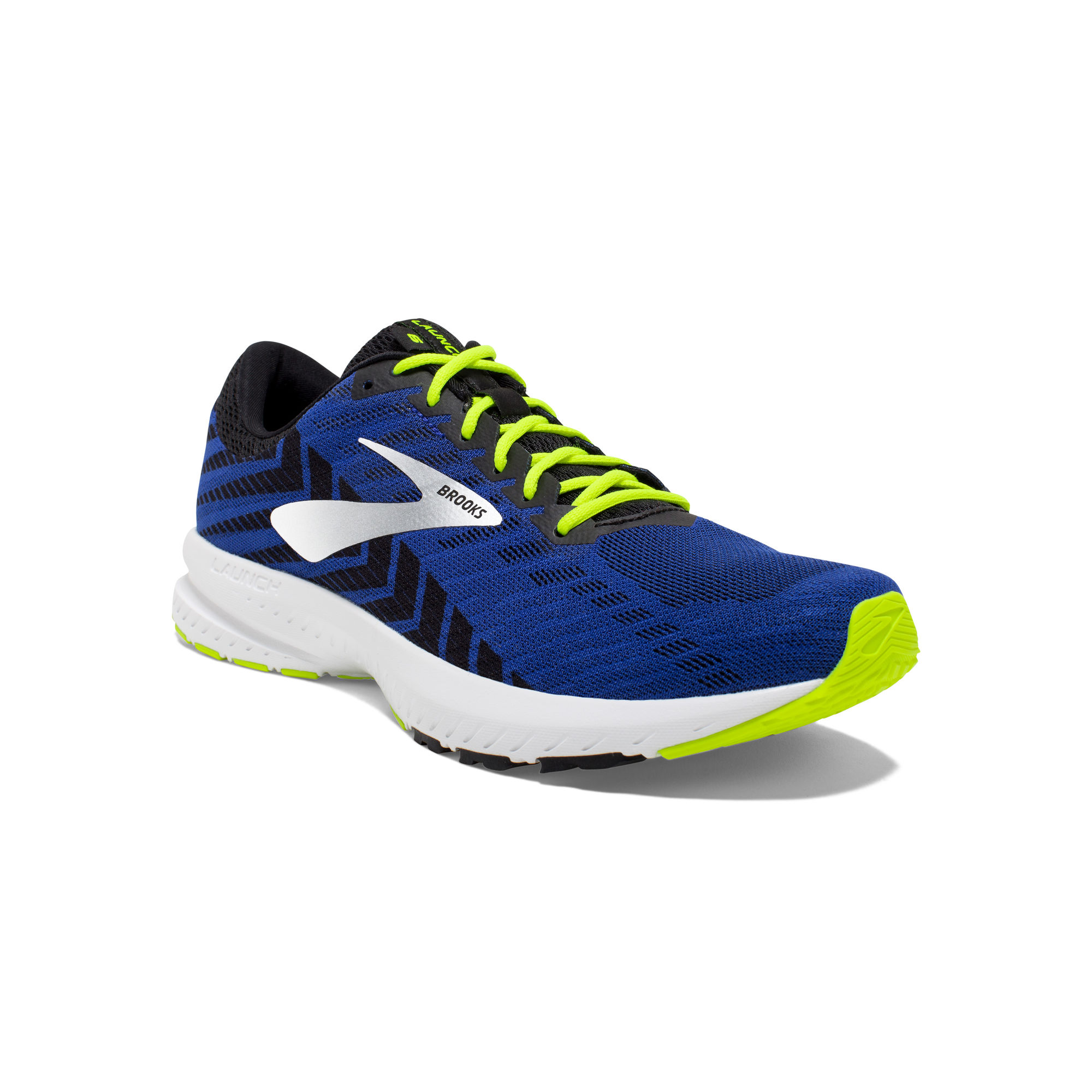 Brooks Launch 6 in Blau Gelb