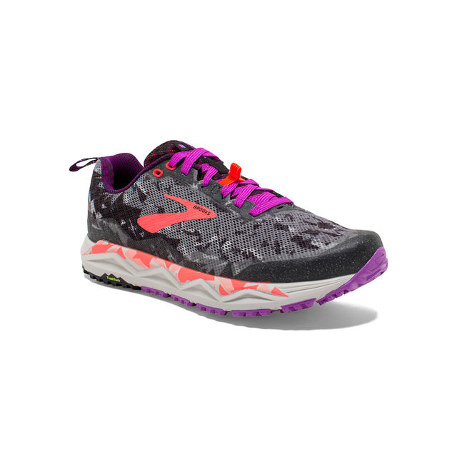 Brooks Lady Caldera 3 in Grau Lila