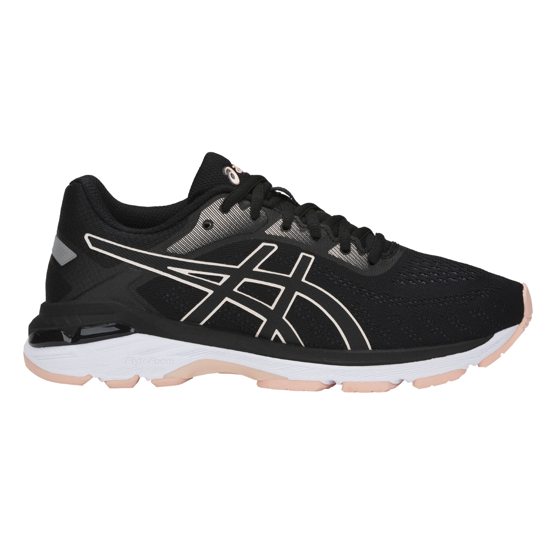 Asics Lady Gel Pursue 5 in Schwarz Rosa